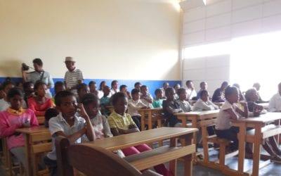 Cérémonie de réception des travaux à l'EPP Faravohitra
