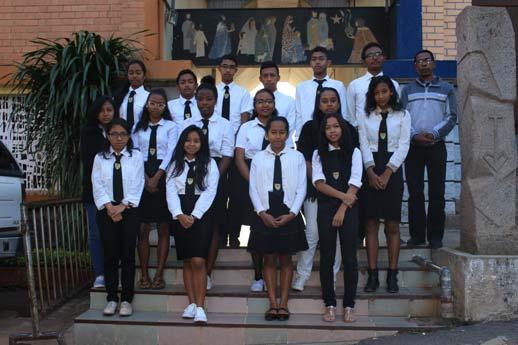 Les élèves de l'ESCA, bénéficiaires de l'action Bourses