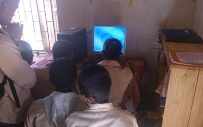 Dotation de matériels informatiques à des écoles publiques L'Express de Madagascar