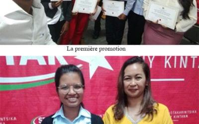 La première promotion de boursiers est diplômée !